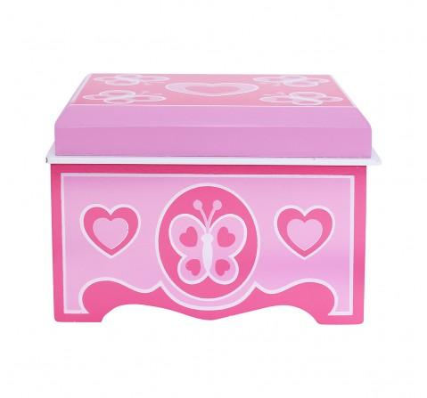 Melissa & Doug Dyo Jewelry Box, Multi Color DIY Art & Craft Kits for Kids age 3Y+