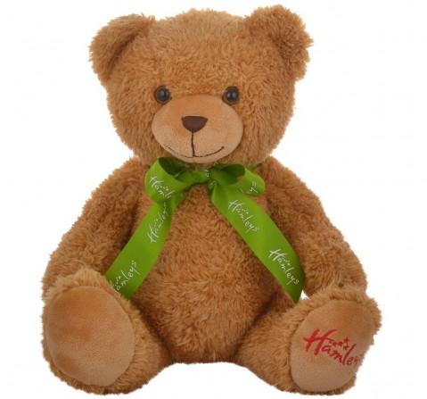 Hamleys Brown Macaroon Teddy Bear Soft Toy for Kids age 3Y+ 17 Cm