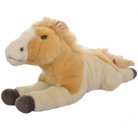 Hamleys Lying Horse Soft Toy (Brown) Animals & Birds for Kids age 0M+ - 14 Cm