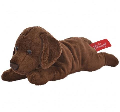 Hamleys Labrador Plush Toy, Brown (3-Inch) Animals & Birds for Kids age 0M+ - 8.5 Cm (Brown)