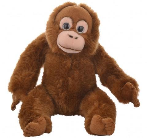 Hamleys Orange-Utan Soft Toy (Brown) Animals & Birds for Kids age 2Y+ - 9.5 Cm (Brown)