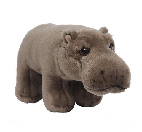 Hamleys Baby Hippo Soft Toy (Brown) Animals & Birds for Kids age 2Y+ - 7 Cm (Grey)