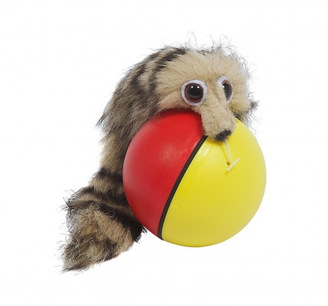 Hamleys Movers & Shakers - Weazel Ball Interactive Soft Toys for Kids age 3Y+ - 5 Cm
