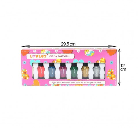 Hamleys Luvley Glitzy Nailtastic Toileteries and Makeup for Girls age 6Y+