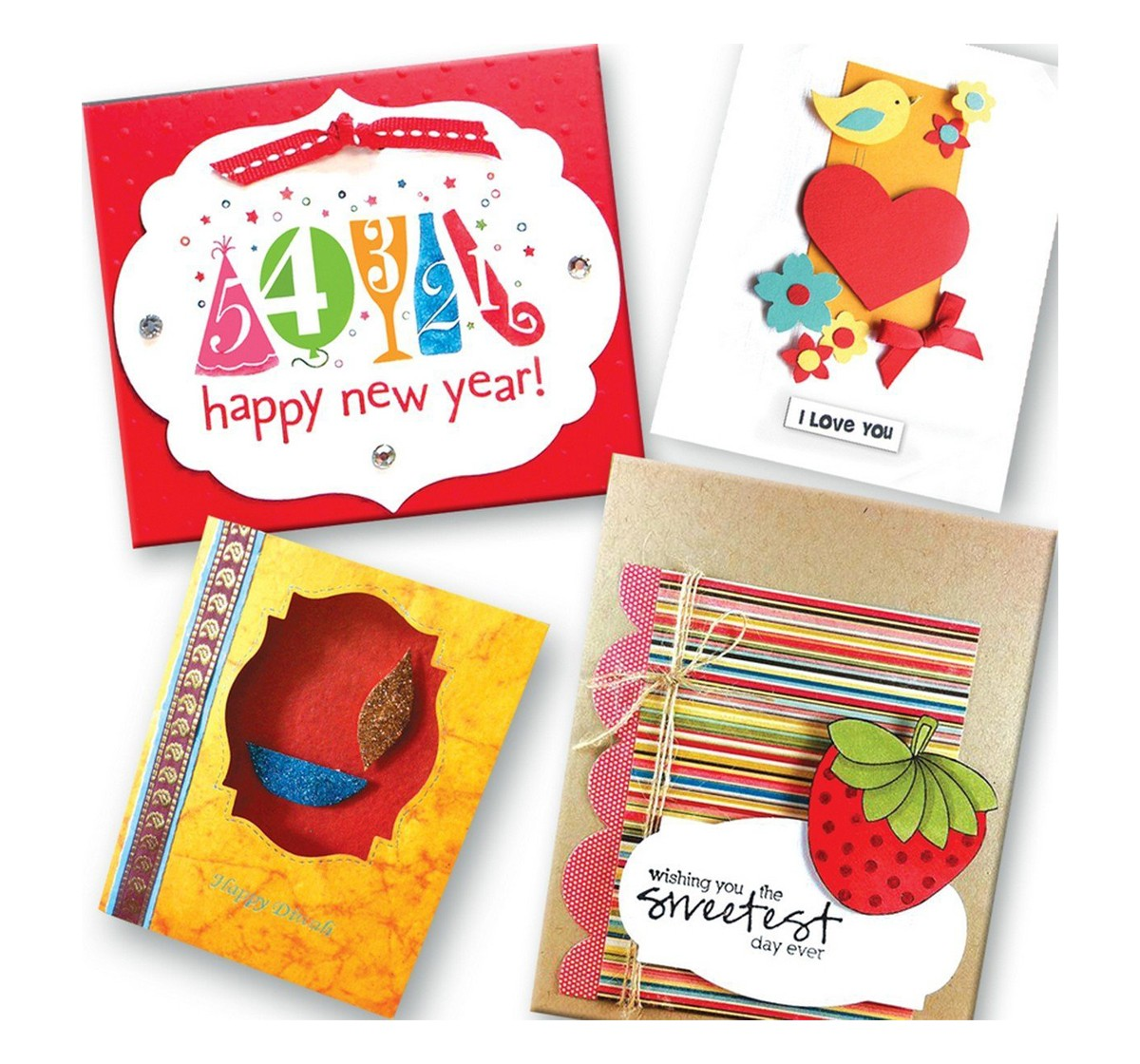 Toy Kraft Celebrate With Greeting Cards DIY Art & Craft Kits for Kids age 5Y+