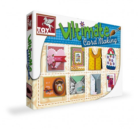 Toy Kraft Celebrate With Greeting Cards, Multi Color DIY Art & Craft Kits for Kids age 5Y+