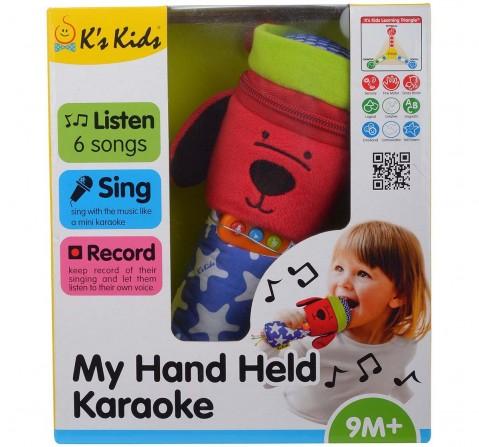 K'S Kids My Hand Held Karaoke Learning Toys for Kids age 12M+