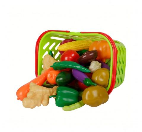 Comdaq Rectangle Vegetable Basket  Set for Girls age 3Y+