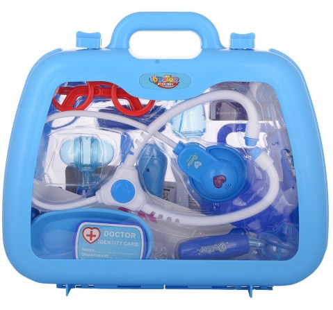 Comdaq Roleplay Doctor Set for Kids age 5Y+ (Blue)