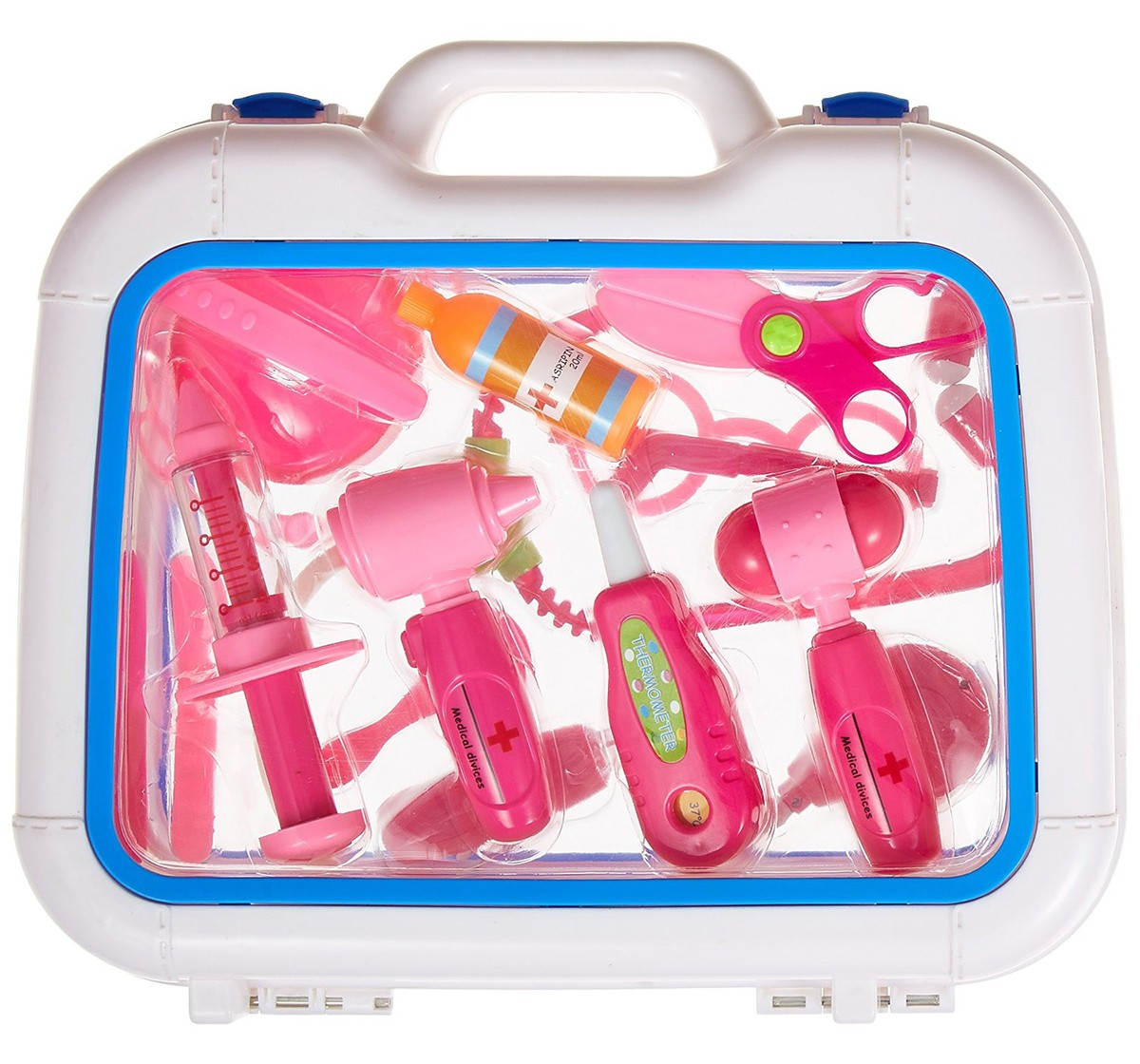 Comdaq Roleplay Doctor Set for Kids age 5Y+ (Pink)