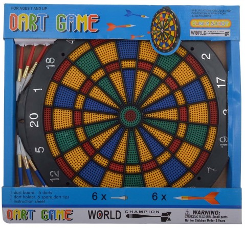 Comdaq Dart Board Indoor Sports for Kids age 3Y+