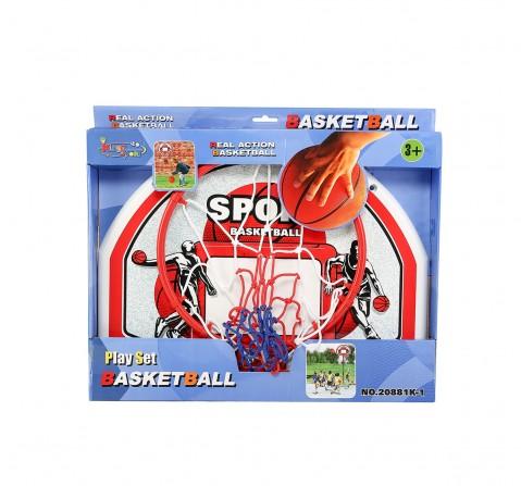 Comdaq Hamleys Wall Basketball Hoop for Kids age 5Y+