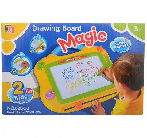 Comdaq Hamleys Magic Drawing Board for Kids age 3Y+ (Yellow)
