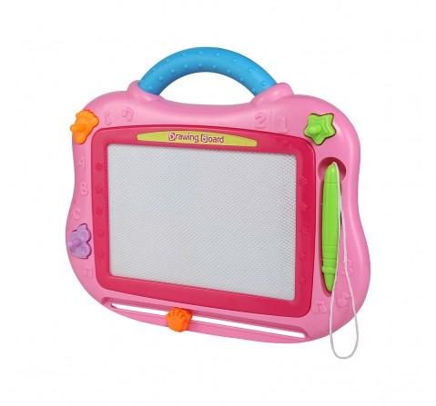 Comdaq Hamleys Magic Drawing Board for Kids age 3Y+ (Pink)