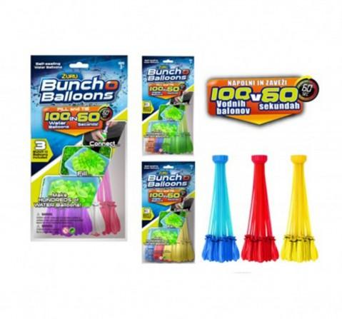 Zuru Bunch O Balloons 100 Rapid-Filling Self-Sealing Water Balloons (3 Pack) , 3Y+