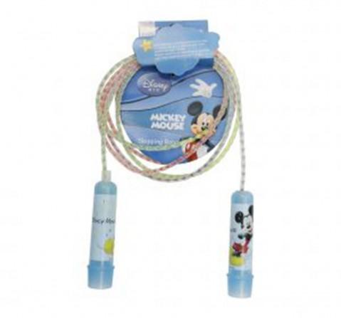 Disney Mesuca mickey Plastic Jump rope, Blue, 4Y+