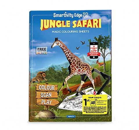 Smartivity Edge Jungle Safari, Unisex, 3Y+ (Multicolor)