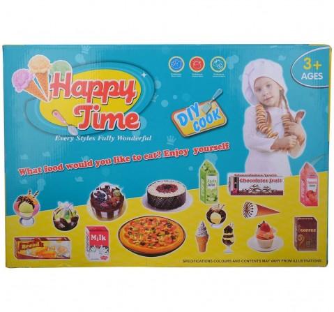 Comdaq Pizza Kitchen Set (Multicolour) Supermarket & Food Playsets for Girls age 4Y+