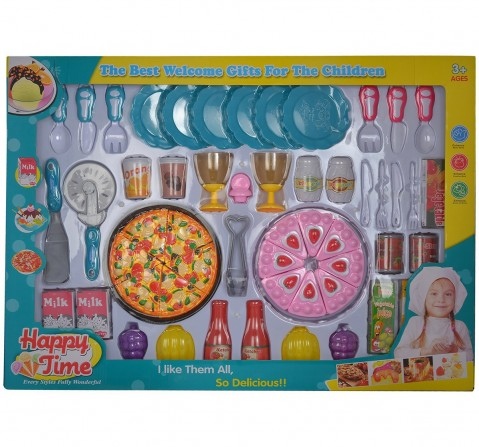 Comdaq Cake And Pizza Dinner Playset for Girls age 4Y+
