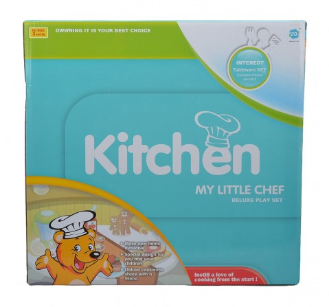 Comdaq Kitchen Set with Pans for Girls age 3Y+