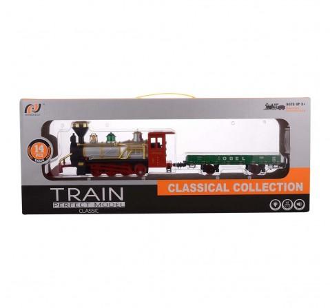 Comdaq Green Goods Boggie Train Tracksets for Kids age 3Y+