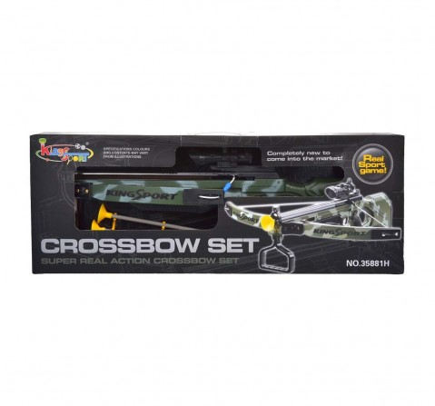 Comdaq Crossbow Camoflage - Big, Green Indoor Sports for Kids age 8Y+