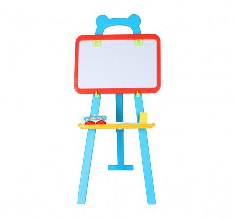 Comdaq Standing Multi Color Easel Board for Kids age 3Y+