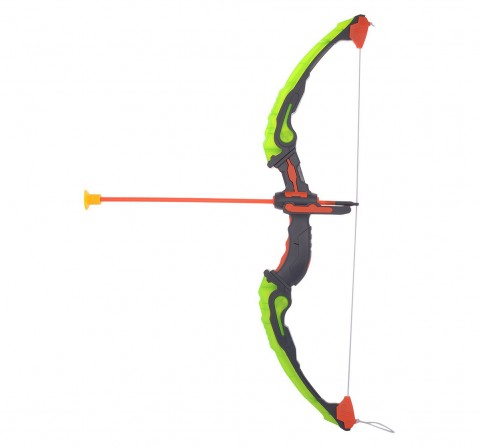 Comdaq Bow And Arrow Set with Dart Target Board for Kids age 8Y+ (Green)
