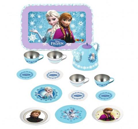 Disney Frozen Tin Tea Set, Multi Color Kitchen Sets & Appliances for Girls age 6Y+