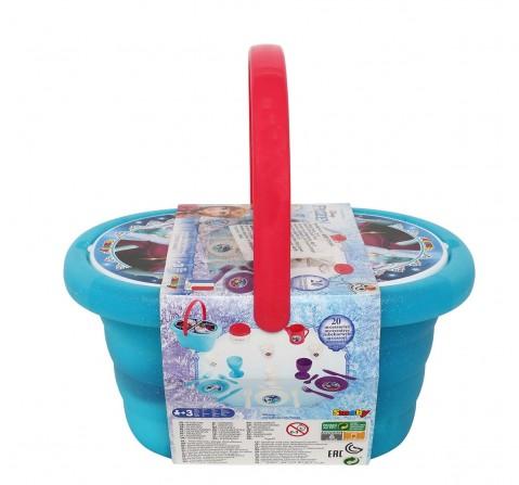 Disney Blue Frozen Picnic Basket Supermarket & Food Playsets for Girls age 3Y+