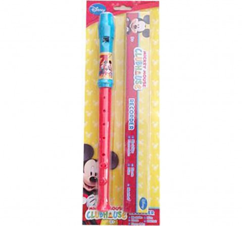 Disney Mickey Minnie Flute with Box Other Instruments for Kids age 3Y+