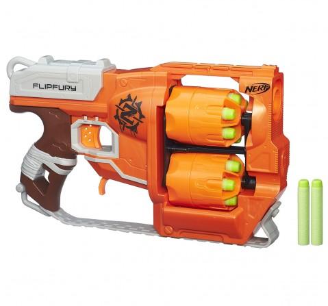 Nerf Zombie Strike Flipfury Blasters for Boys age 8Y+