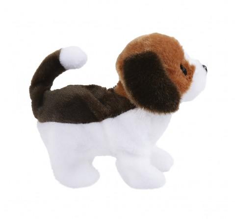 Rowan Baby Beagle Interactive Plush Soft Dog for Kids age 3Y+ - 15 Cm