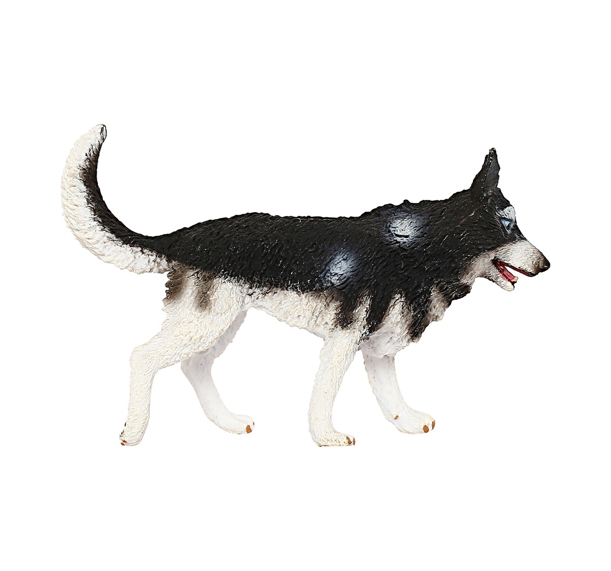 Collecta Siberian Husky Animal Figure for Kids age 3Y+ (White)