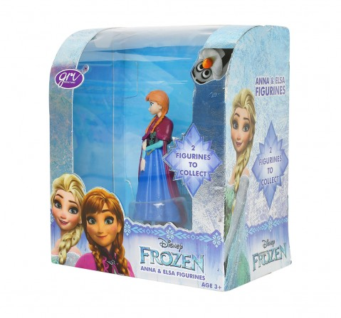 Disney Frozen Anna Figurine, Multi Color Novelty for Kids age 4Y+
