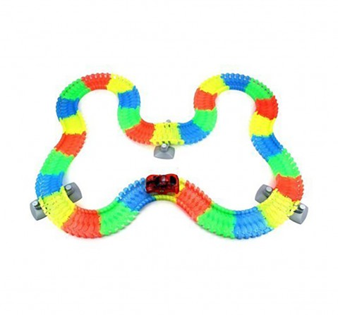 Turbo Trax 192 PCS Track and Car Set for Kids age 3Y+