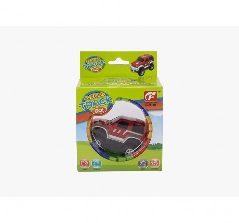 Rowan Lets Go Turbo Trax Set for Kids age 3Y+ (Red)