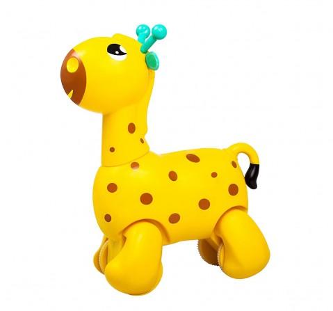 Giggles Nico The Giraffe, Yellow New Born for Kids age 12M+ (Yellow)