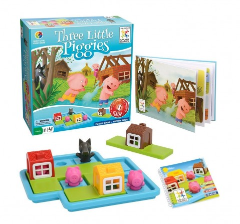 Smart Games  Three Little Piggies Deluxe for Kids age 3Y+
