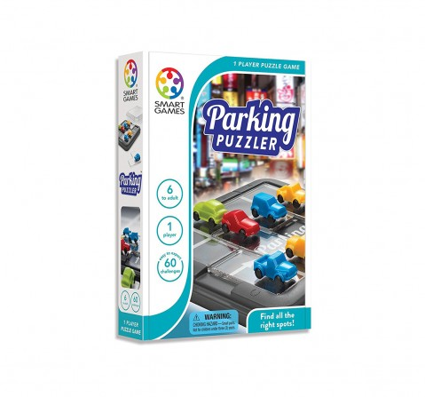 Smart Games Parking Puzzler for Kids age 6Y+