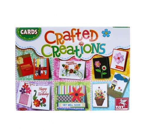 Toy Kraft Cards Crafted Creations DIY Art & Craft Kits for Kids age 7Y+