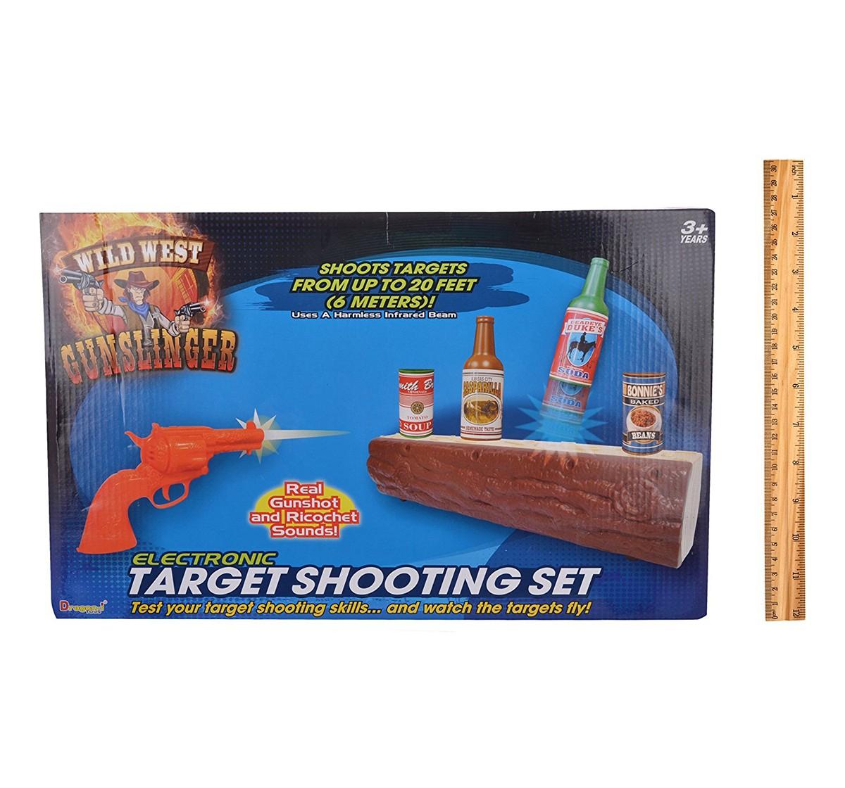 Dragon I Gunslinger Target Game and Darts for Kids age 3Y+