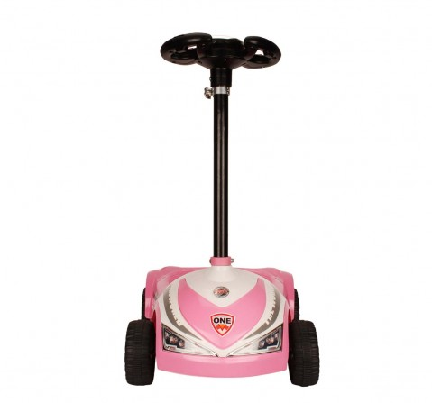 Megawheel Kids Scooty Pink Novelty Rideons for Kids age 3Y+