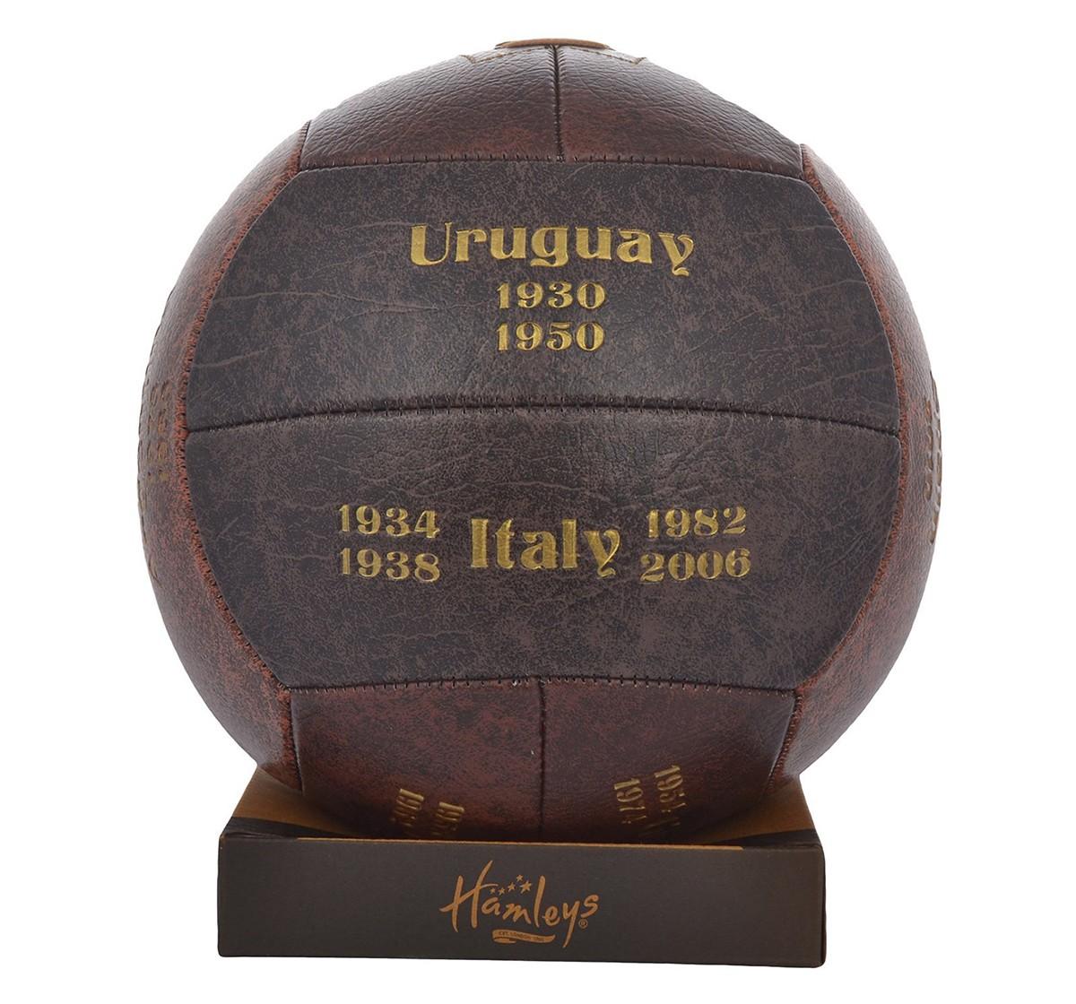 Hamleys World Cup Champion Three Tone Football for Kids age 3Y+ (Brown)