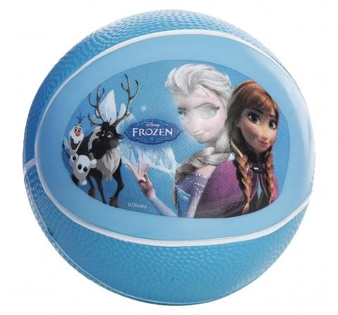 Disney Mesuca Frozen Pvc Basketball 6 , Blue, 2Y+