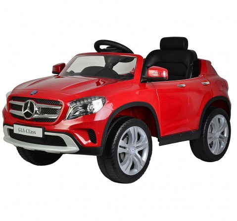 Chilokbo Mercedes Benz GLA Battery Operated Ride-on Car Battery Operated Rideons for Kids age 3Y+ (Blue)