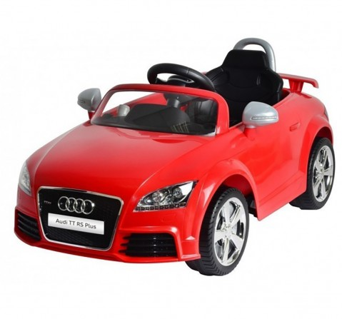 Chilokbo Audi TT RS Battery Operated Ride-on Car Battery Operated Rideons for Kids age 18M + (Red)