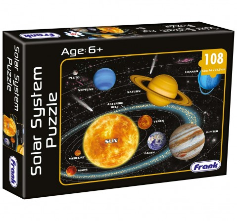 Frank Solar System Puzzle Puzzles for Kids Age 6Y+