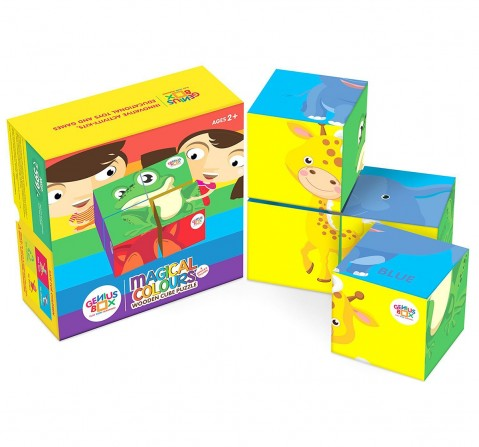 Genius Box - Play Some Learning Toys For Children : Magical Colours Activity Kit Science Kits for Kids age 3Y+