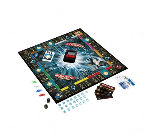 Hasbro Gaming Monopoly Game: Ultimate Banking Edition Board Games for Kids age 8Y+